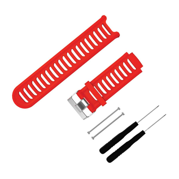 Mobile Mob Garmin Forerunner 910XT Bands Replacement Strap Red