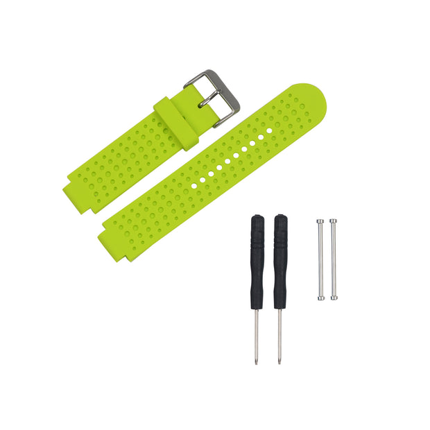 Mobile Mob Garmin Forerunner 230/235/630/220/620/735 Replacement Bands Strap Kit Lime