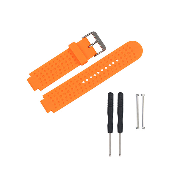 Mobile Mob Garmin Forerunner 230/235/630/220/620/735 Replacement Bands Strap Kit Orange