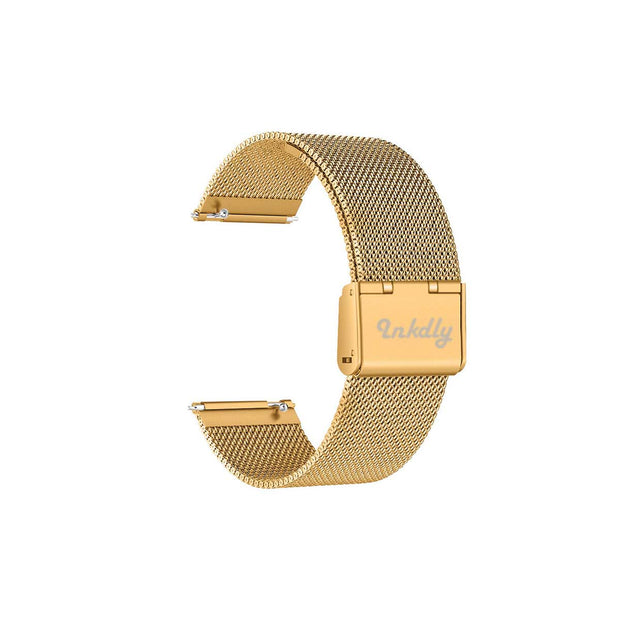 Mobile Mob Milanese Fitbit Versa & 2 Band Replacement Quick Release Gold Honour