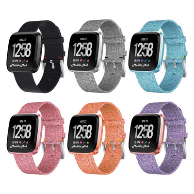 Mobile Mob Fitbit Versa & 2 Woven Band Replacement Straps