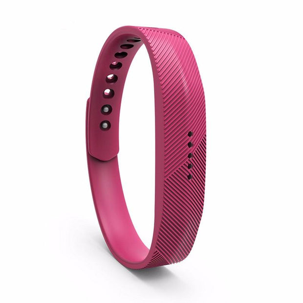 Fitbit Flex 2 Bands Replacement Bracelet Wristband With Clasp - Pink