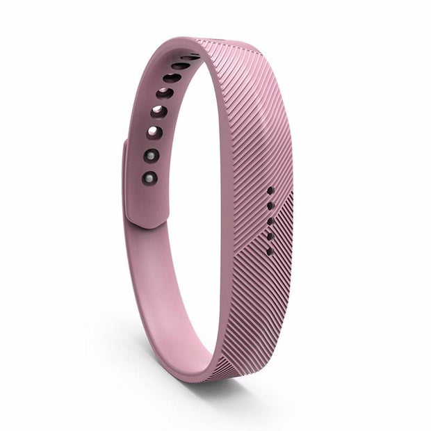 Fitbit Flex 2 Bands Replacement Bracelet Wristband With Clasp - Light Purple