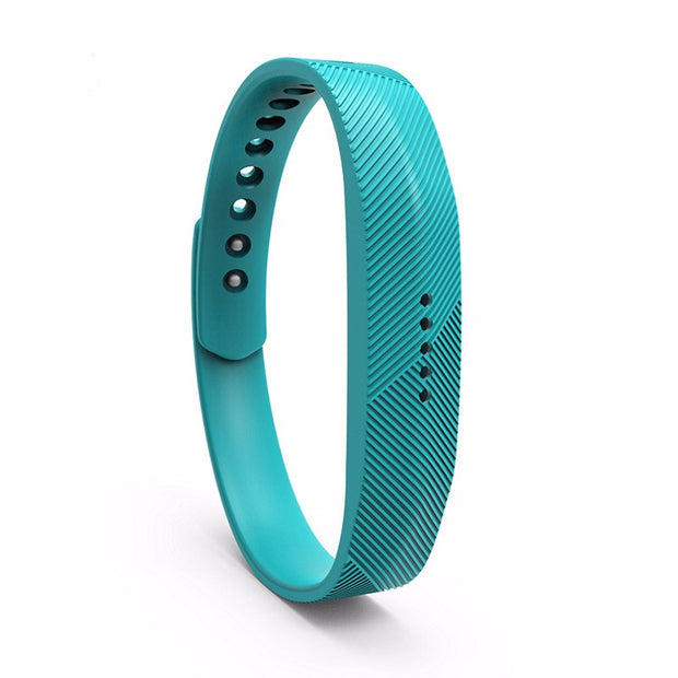Fitbit Flex 2 Bands Replacement Bracelet Wristband With Clasp - Teal
