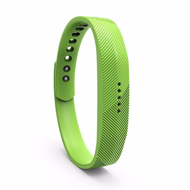Mobile Mob Fitbit Flex 2 Bands Replacement Bracelet Wristband With Clasp Large / Lime
