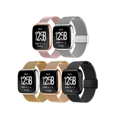 Mobile Mob Milanese Fitbit Versa & 2 Band Replacement Quick Release
