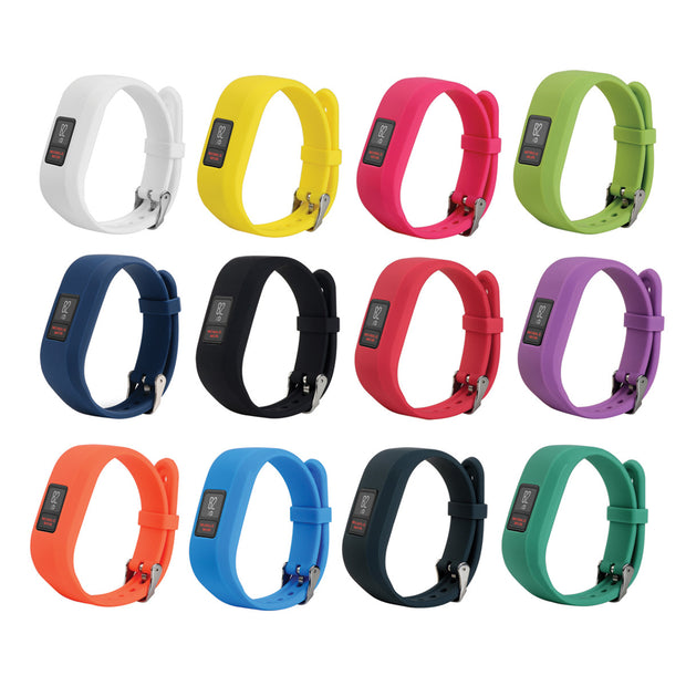 Garmin Vivofit 3 Bands Replacement Bracelet with Buckle (Large or Small)