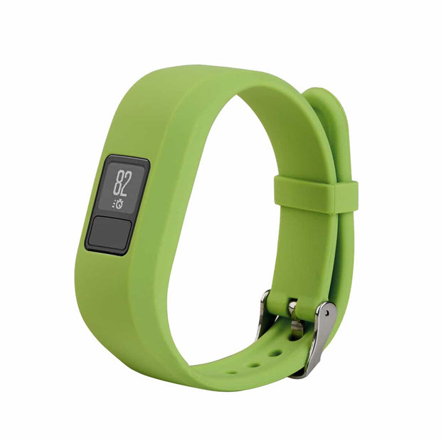 Mobile Mob Garmin Vivofit Jr & Jr 2 Replacement Bands Strap with Stainless Buckle Lime