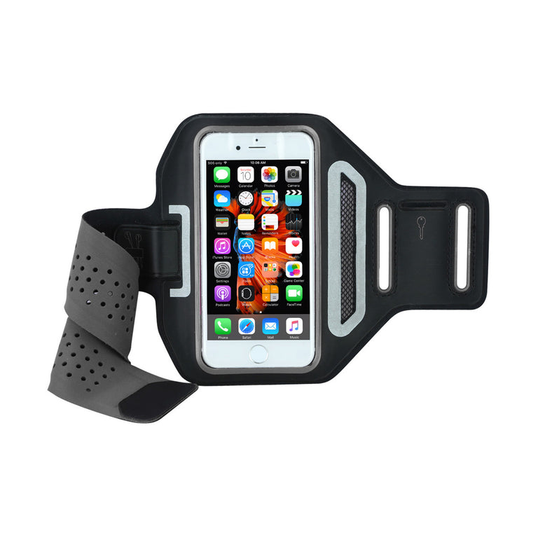 "Mobile Mob Airvent Gym Running Armband For Apple iPhone 8 7 6s 6 Plus (Upto 5.5"")"