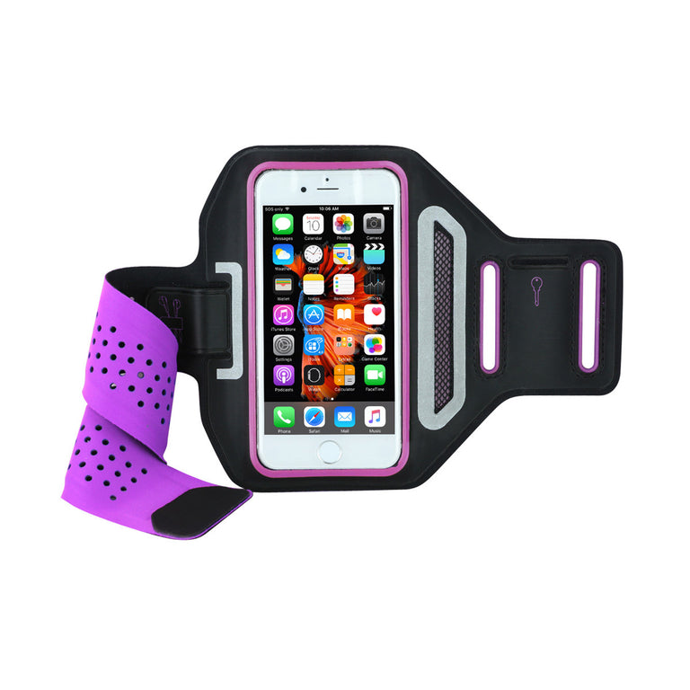 "Mobile Mob Airvent Gym Running Armband For Apple iPhone X 8 7 6S 6 SE 5S (Upto 4.7"")"