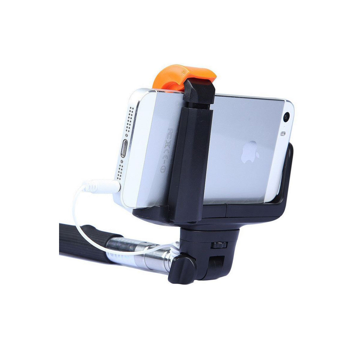 Selfie Stick MonoPole with Camera Button For Apple iPhone 4 5s 6 Plus Back