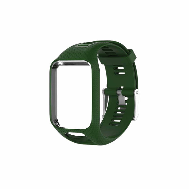 Mobile Mob TomTom Runner 2 & 3 Bands Replacement Strap Army Green