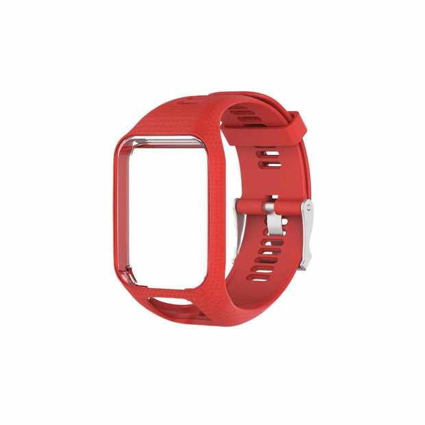 Mobile Mob TomTom Runner 2 & 3 Bands Replacement Strap Red