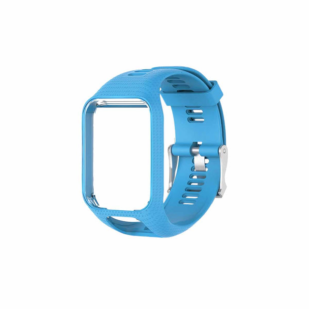 TomTom Runner 2 & 3 Bands Replacement Strap - Light Blue