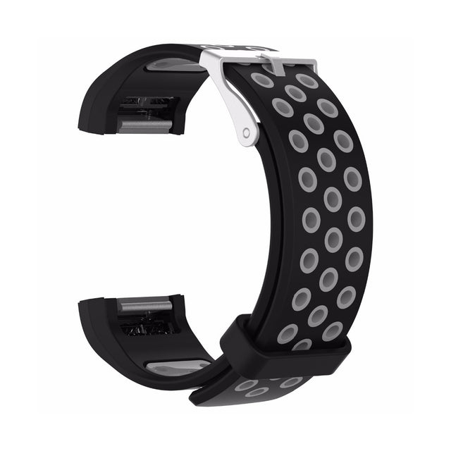 AirVent Fitbit Charge 2 Bands Replacement Bracelet Wristband with Buckle