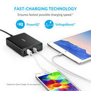 Mobile Mob Anker USB-C 60W 5-Port PowerPort + 5 USB Charger For Macbook