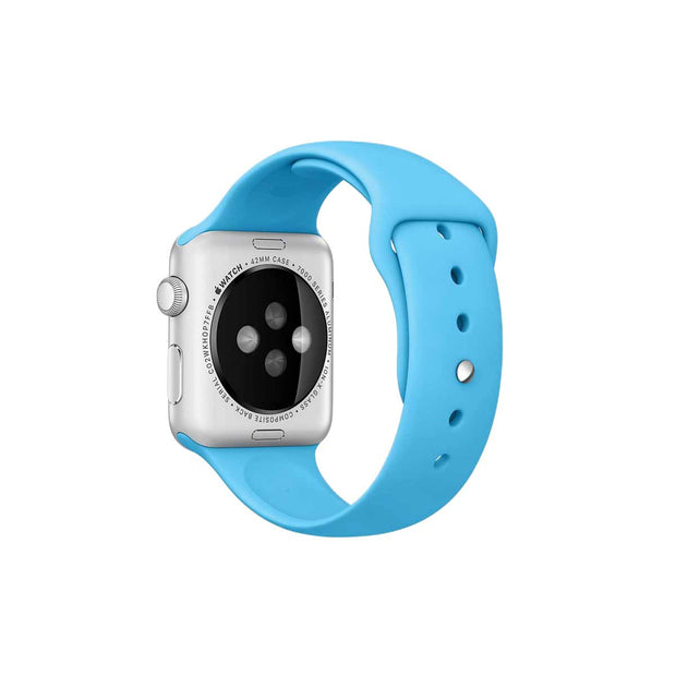 Mobile Mob Sport Apple Watch Bands Replacement Strap 38MM/40MM / Light Blue