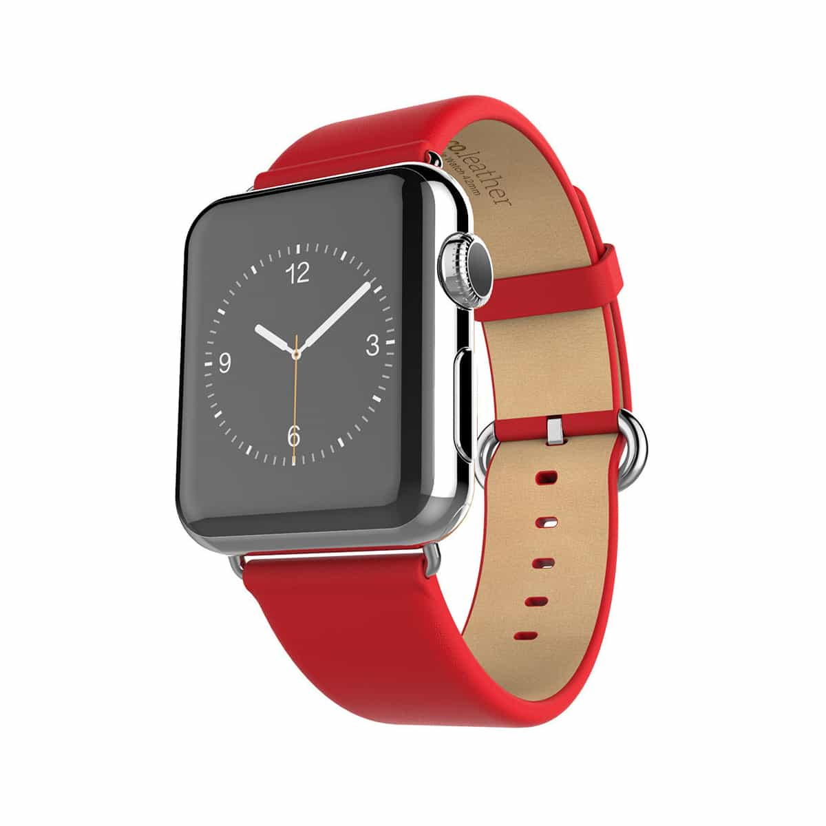 Classic Leather Apple Watch Bands Replacement Strap (42mm or 38mm)