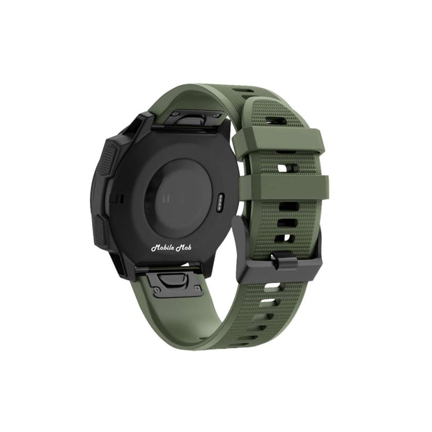 Mobile Mob Garmin Band Replacement Straps with Quick Change (22mm) Army Green