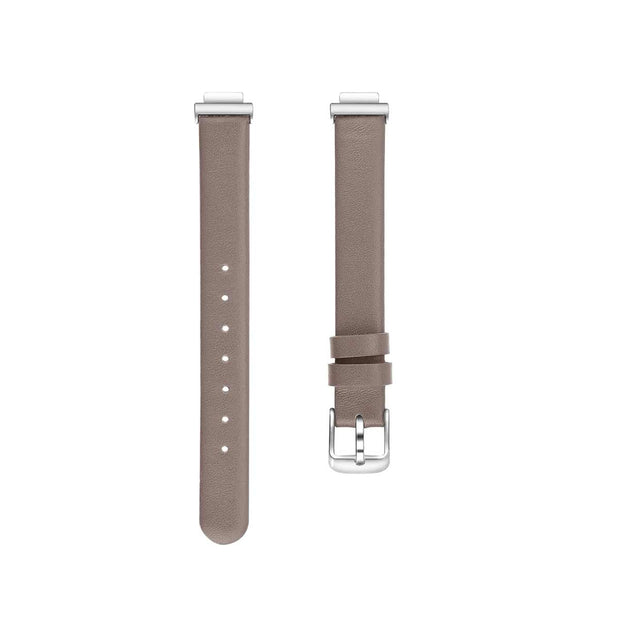 Leather Fitbit Inspire & HR Bands Replacement Strap Light Brown