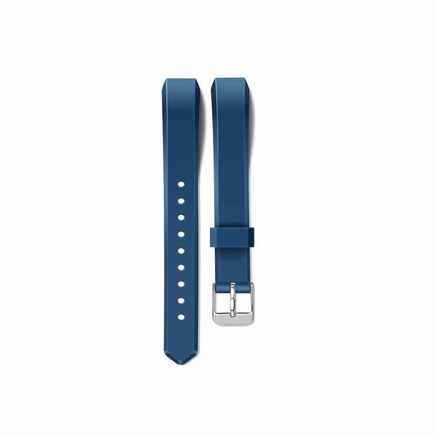 Mobile Mob Fitbit Alta HR Bands Replacement Strap Classic with Buckle Dark Blue