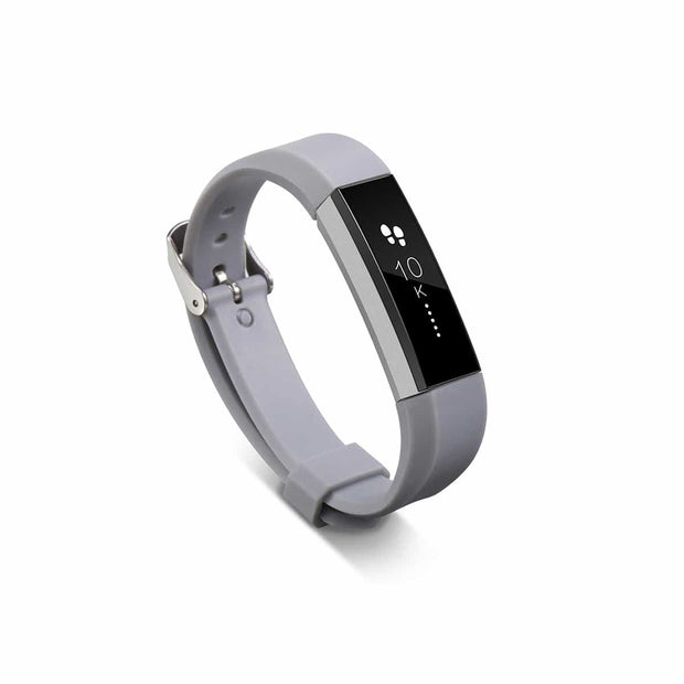 Mobile Mob Fitbit Alta HR Bands Replacement Strap Classic with Buckle Grey