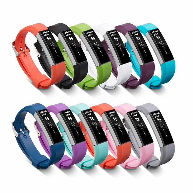Mobile Mob Fitbit Alta HR Bands Replacement Strap Classic with Buckle
