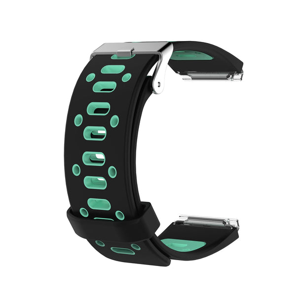 Mobile Mob AirVent Fitbit Blaze Bands Replacement Strap with Buckle Black + Teal