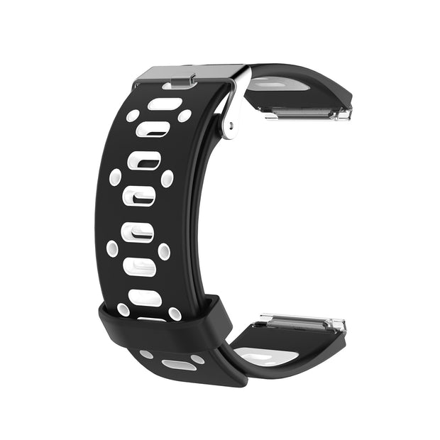 Mobile Mob AirVent Fitbit Blaze Bands Replacement Strap with Buckle Black + White Vents