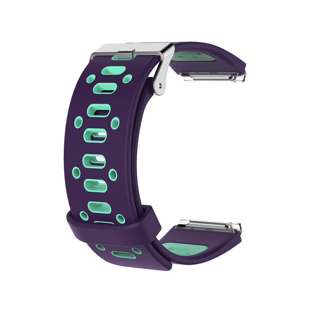 Mobile Mob AirVent Fitbit Blaze Bands Replacement Strap with Buckle Purple + Green Vents