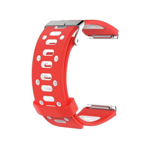 Mobile Mob AirVent Fitbit Blaze Bands Replacement Strap with Buckle Red + White Vents
