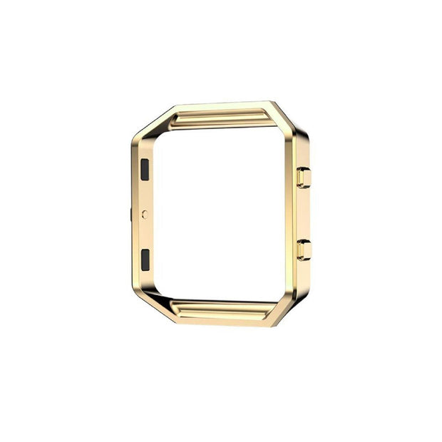 Mobile Mob Metal Alloy Fitbit Blaze Frame Replacement Cradle Gold Honour