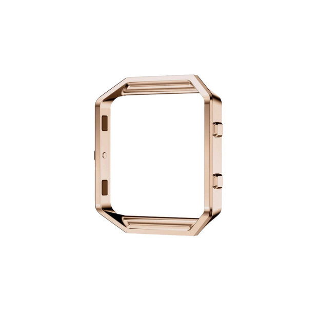 Mobile Mob Metal Alloy Fitbit Blaze Frame Replacement Cradle Rose Gold