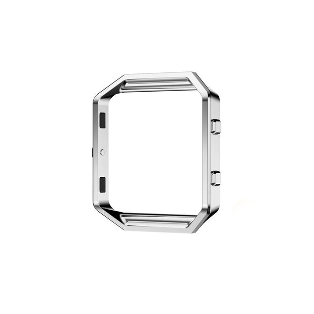 Mobile Mob Metal Alloy Fitbit Blaze Frame Replacement Cradle Silver Steel