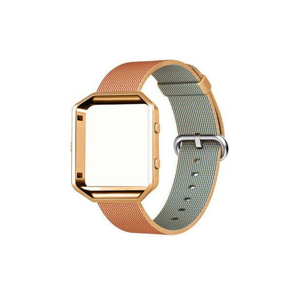 Mobile Mob Fitbit Blaze Woven Nylon Band Replacement & Frame Sunset