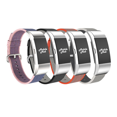 Mobile Mob Fitbit Charge 2 Woven Nylon Band Replacement Straps