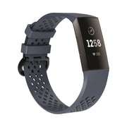 Mobile Mob AirVent Fitbit Charge 3 Bands Replacement Sports Strap with Buckle Small / Slate