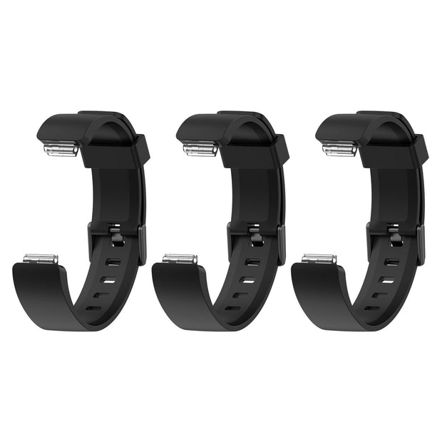 Mobile Mob Fitbit Inspire & HR Bands Replacement Straps Small / Black (3-Pack)