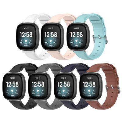 Mobile Mob Leather Fitbit Versa 3 & Sense Band Replacement Strap