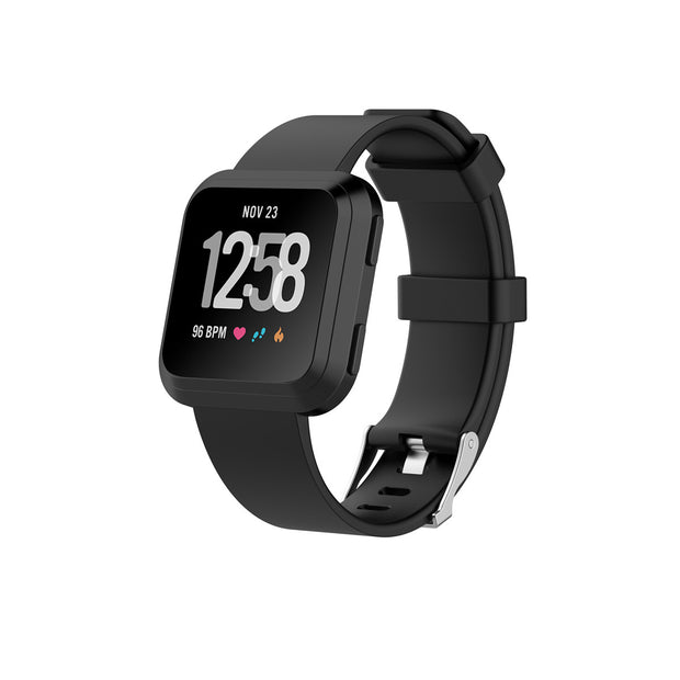 Mobile Mob Fitbit Versa & 2 Bands Replacement Straps Small / Black