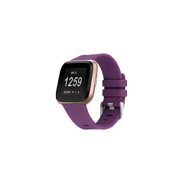 Mobile Mob Fitbit Versa & 2 Bands Replacement Straps Small / Dark Purple