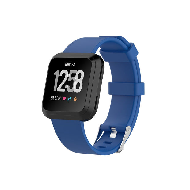 Mobile Mob Fitbit Versa & 2 Bands Replacement Straps Small / Navy Blue