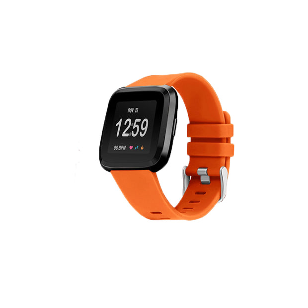 Mobile Mob Fitbit Versa & 2 Bands Replacement Straps Small / Orange