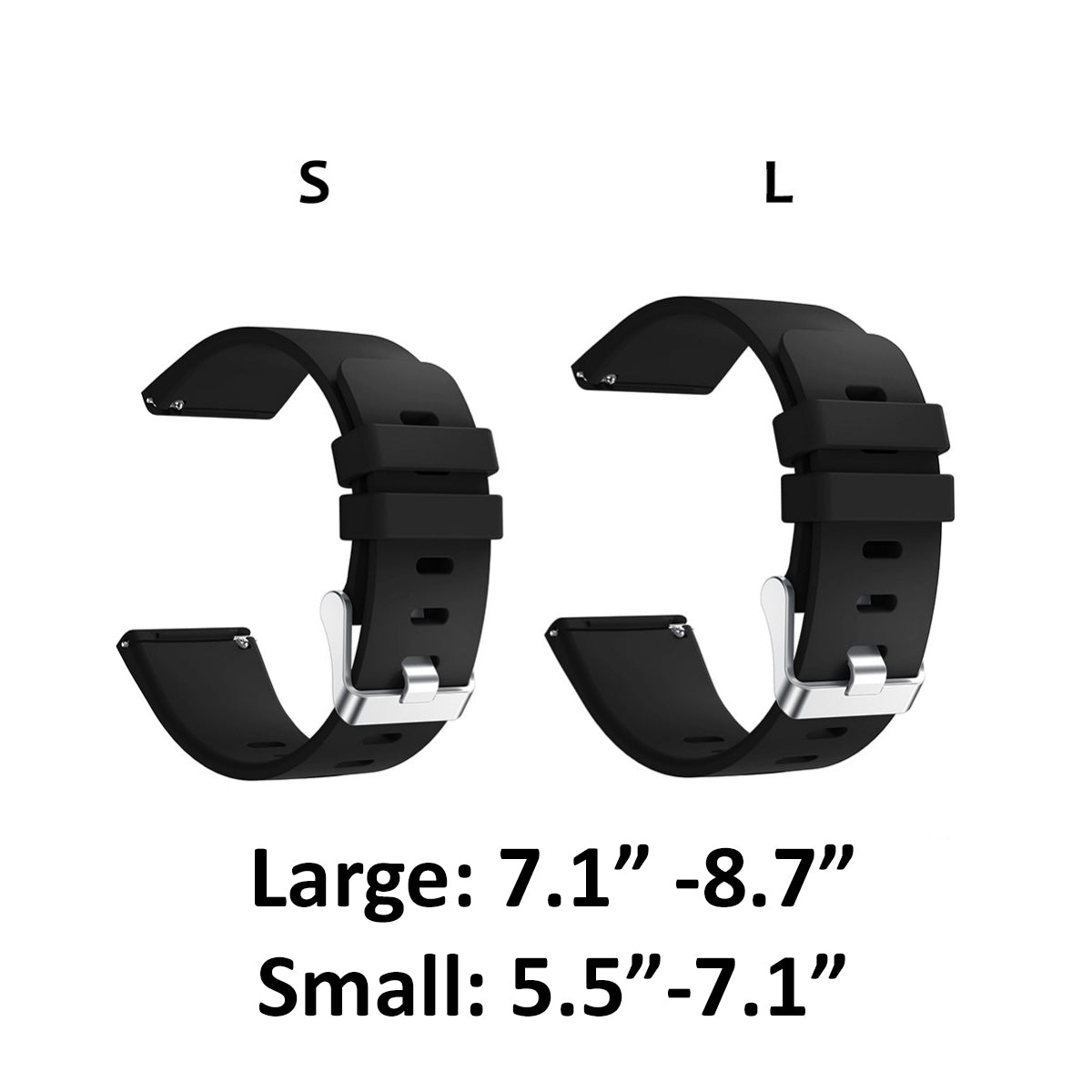 Fitbit Versa Bands Replacement Bracelet Straps (Small or Large)