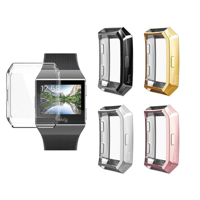 Mobile Mob Slimfit Fitbit Ionic Protective Case & Screen Protector 2-Pack