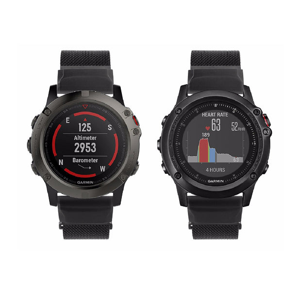 Milanese Garmin Fenix 3 & Fenix 5X Band Magnetic Lock (26mm)
