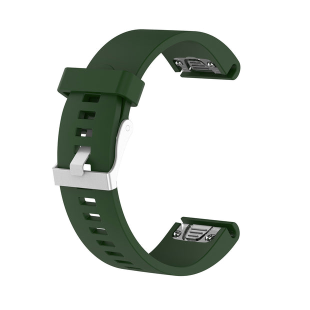 Mobile Mob Garmin Fenix 5S,5S Plus,6S,6S Pro,D2 Delta Replacement Bands Strap Quickfit (20mm) Dark Green