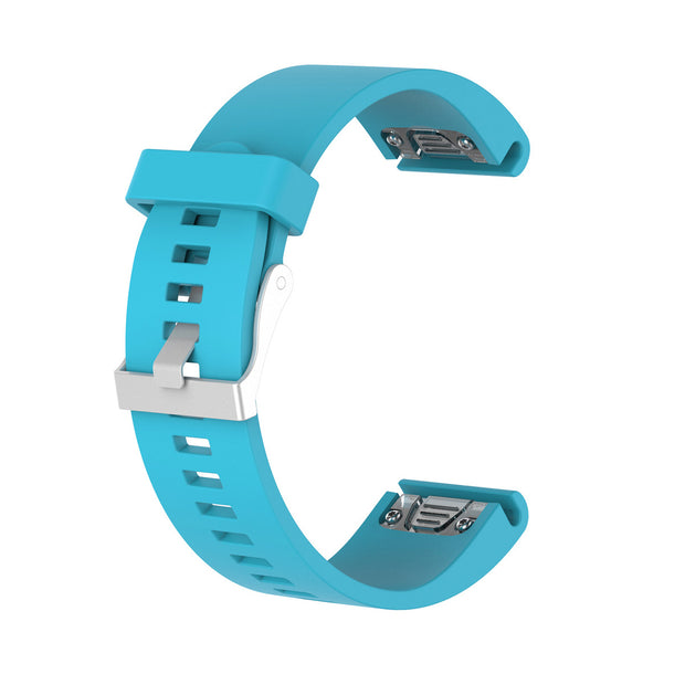 Mobile Mob Garmin Fenix 5S,5S Plus,6S,6S Pro,D2 Delta Replacement Bands Strap Quickfit (20mm) Light Blue