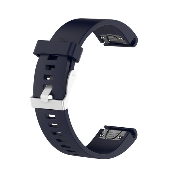 Mobile Mob Garmin Fenix 5S,5S Plus,6S,6S Pro,D2 Delta Replacement Bands Strap Quickfit (20mm) Navy Blue