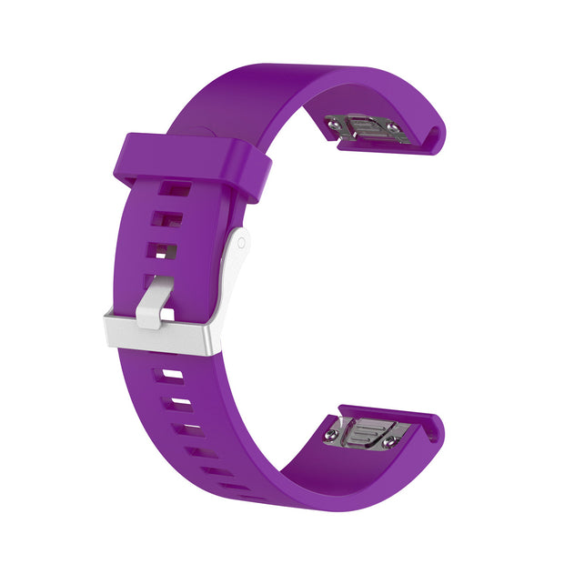 Mobile Mob Garmin Fenix 5S,5S Plus,6S,6S Pro,D2 Delta Replacement Bands Strap Quickfit (20mm) Purple